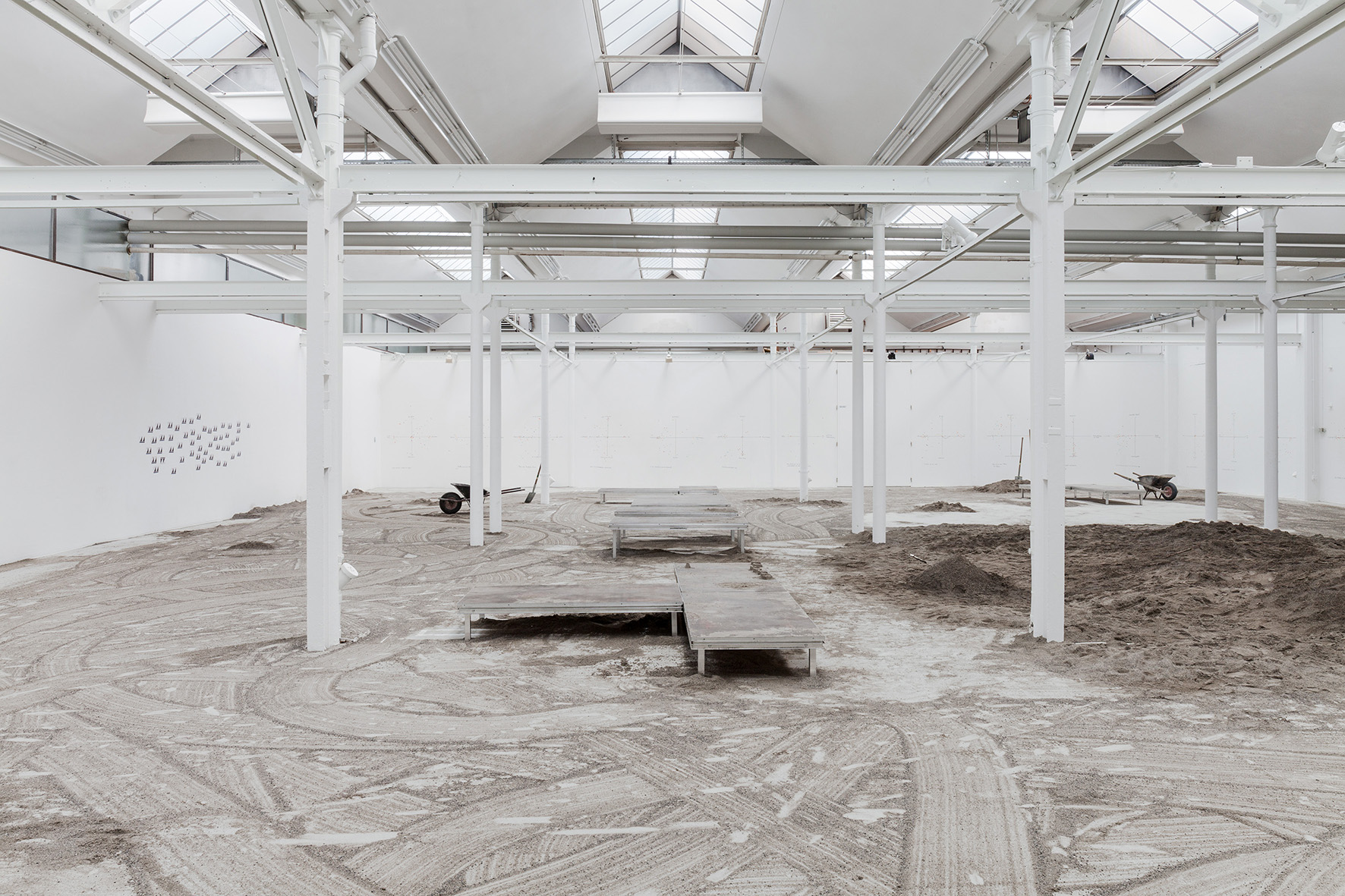 1 - View of the exhibition 13m3 Sand (February - April 2019) Shedhalle, Zürich.jpg