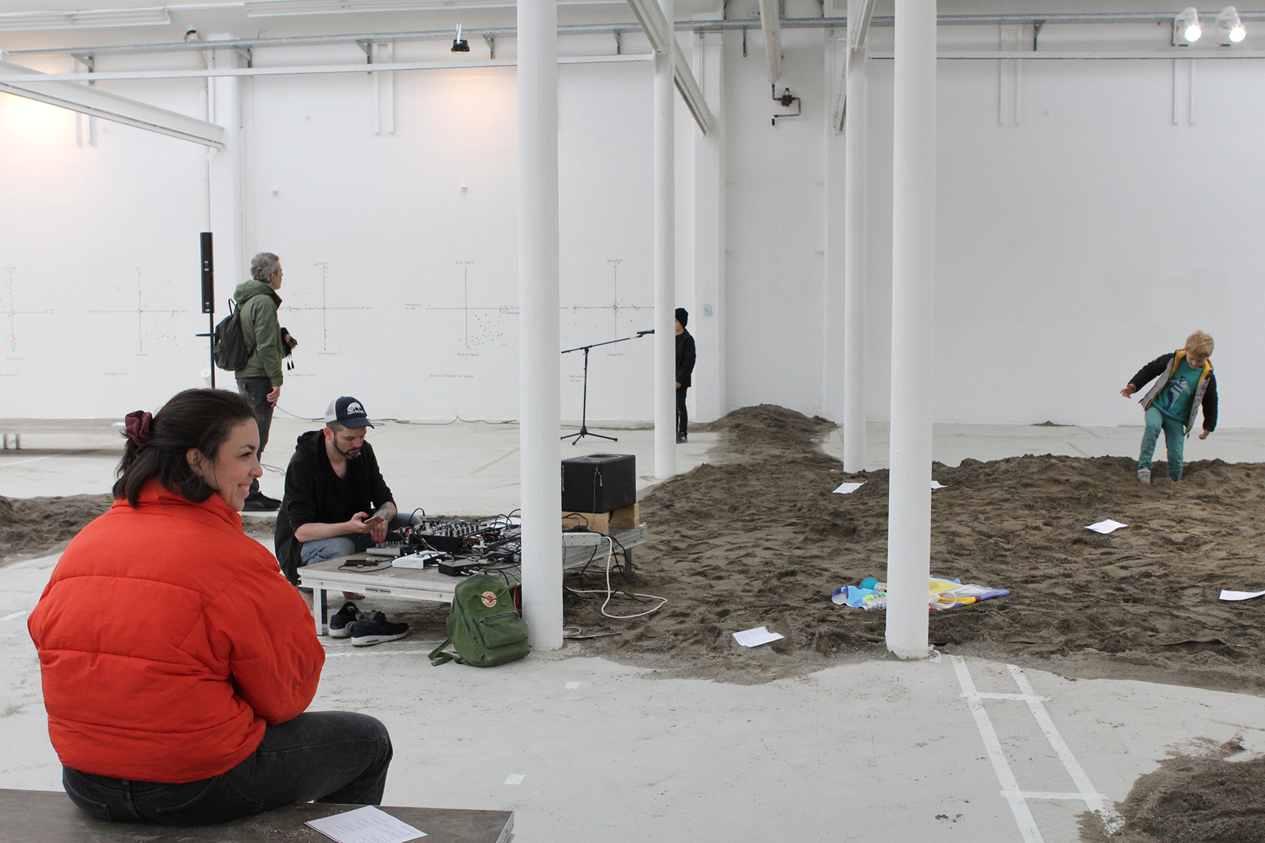 2- View of the exhibition 13m3 Sand (February - April 2019) Shedhalle, Zürich.jpg