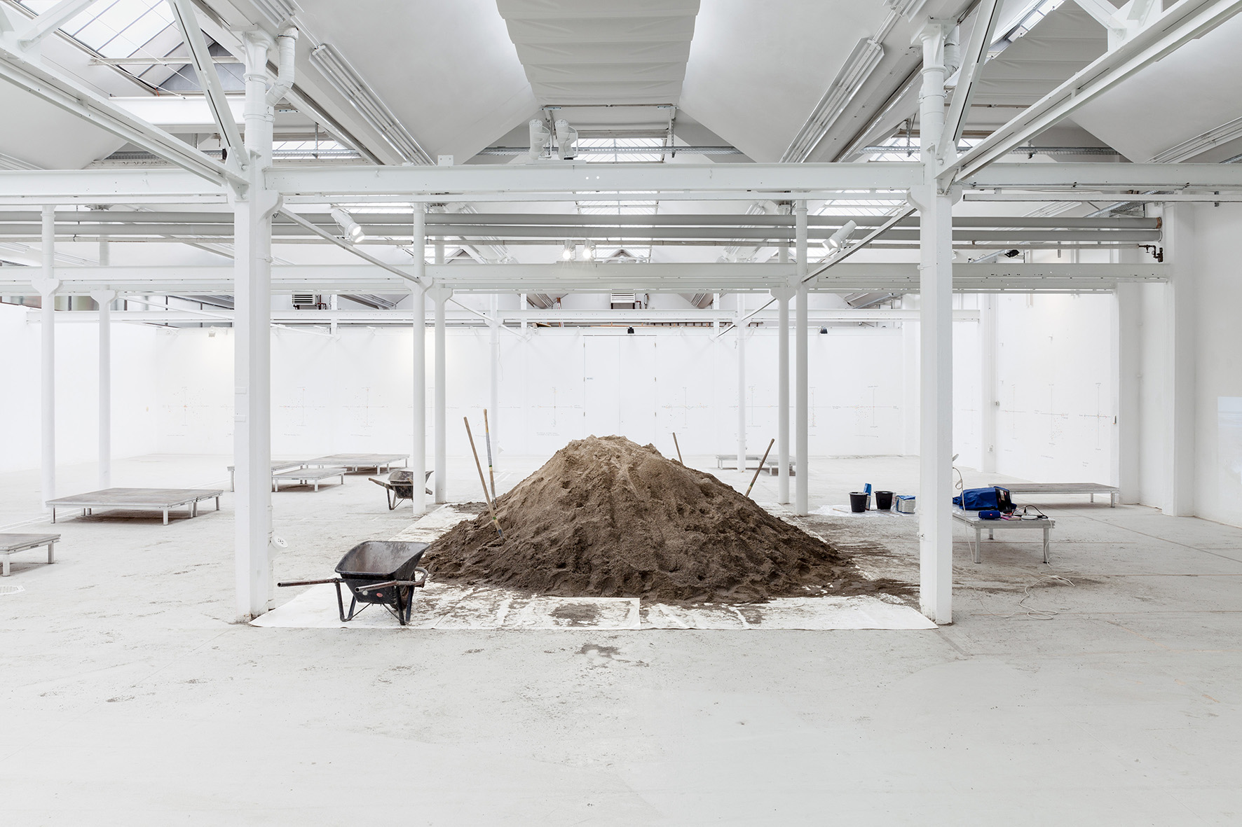 3- View of the exhibition 13m3 Sand (February - April 2019) Shedhalle, Zürich.jpg